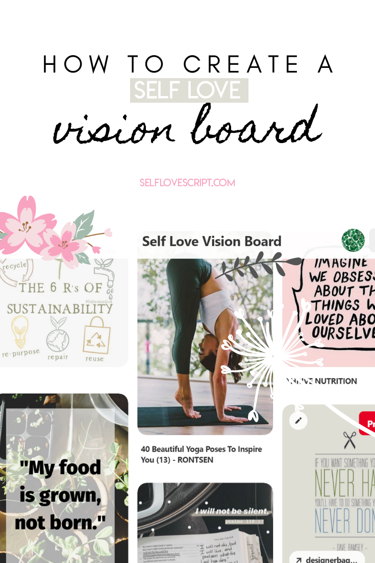 How to Create a Self Love Vision Board